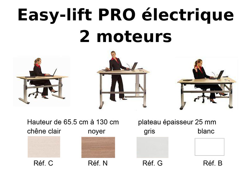 action easy lift pro - Easy bureau réglable